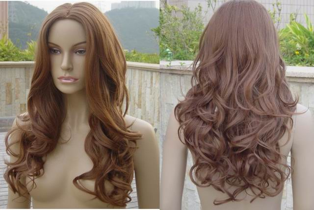 Human Synthetic Hair Extensions Wigs 118