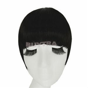 black clip in hair extension bang