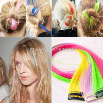 color hair extension