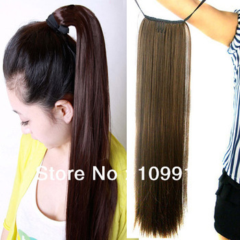 ponytail synthetic hair extension