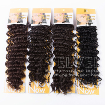 synthetic kinky hair extension