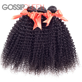 Mongolian Unprocessed 6A Afro Virgin Hair Extensions