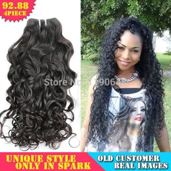 Brazilian Water Wave Virgin Hair Extensions, 12 Inches ~ 26 Inches