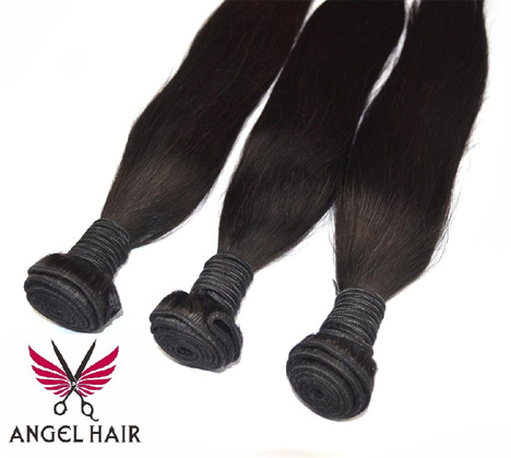 angel hair peruvian straight hair extension