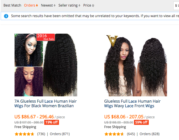 how to select good AliExpress hair vendors 1